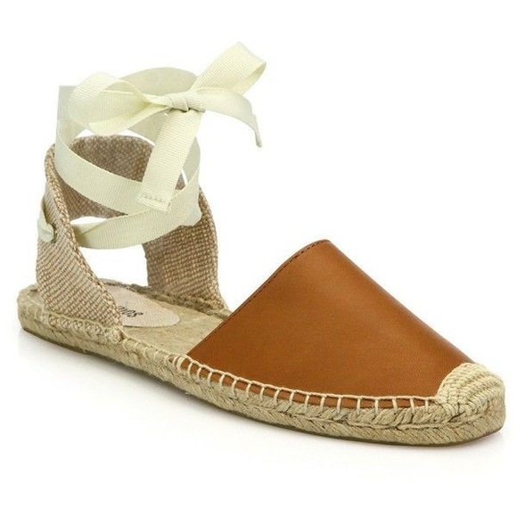5ba4db29bc44 Soludos Shoes - Soludos leather ankle tie espadrilles